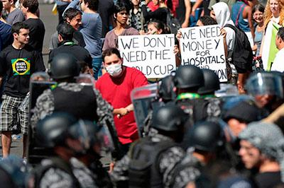 Более четверти миллиона бразильцев вышли на протест