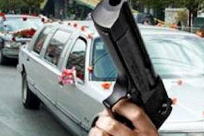 Очередная стреляющая свадьба в Москве