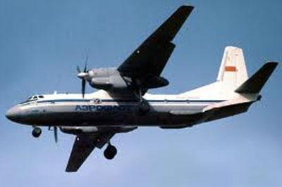 Ан-26 совершил аварийную посадку в Красноярском крае