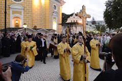 Путин отпраздновал Крещение Руси в Киеве