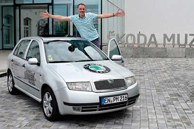 Владелец Skoda Fabia проехал на нем миллион километров