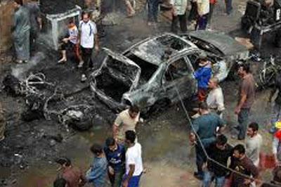 За один вечер в Багдаде взорвали 12 автомобилей