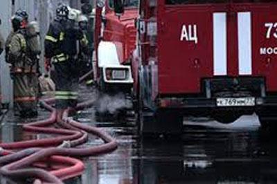 Известна причина пожара в московском ТЦ