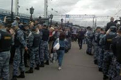 В связи с приездом Навального, на Ярославском вокзале объявлена эвакуация