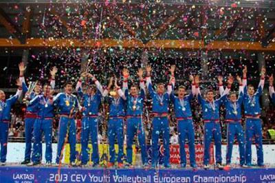 Юношеская сборная России по волейболу выиграла чемпионат мира