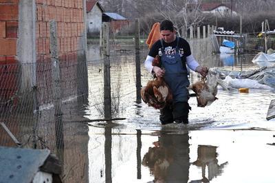 Западную Грузию затопило