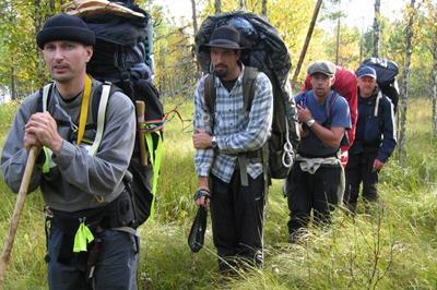 Московские туристы пропали на Байкале