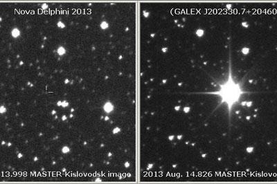 Новая самая яркая звезда появилась в небе за последние 14 лет