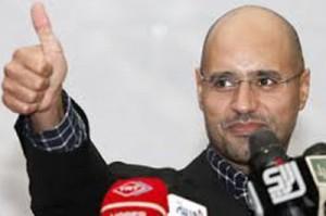 Сын Кадаффи ответит перед Ливийским судом
