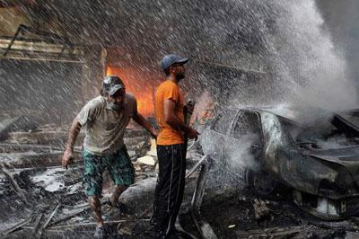 Количество жертв теракта в Бейруте возросло