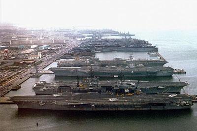 На военно-морской базе США прогремел взрыв