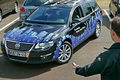Volkswagen презентовал новые технологии управления автомобилем