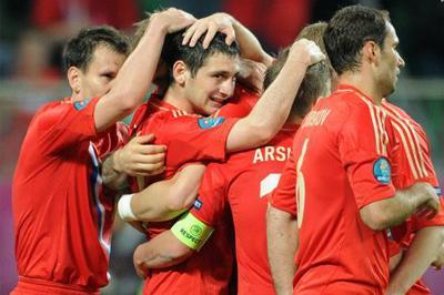 Фабио Капелло доволен игрой сборной России
