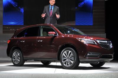 В 2014 году в России будет представлен новый автомобиль Acura