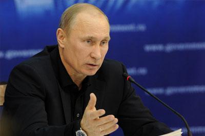 Путин заявил о сокращении Российского бюджета