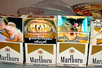 Устрашающие картинки» на пачках сигарет не пугают 82% россиян