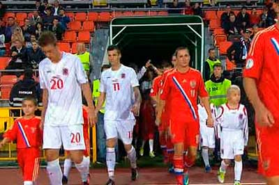 Сборная России разгромила Люксембург - 4:0
