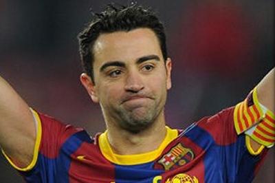 Полузащитник «Барселоны» Хави, смог побить рекорд Рауля в Лиге Чемпионов