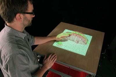 Исследователи из массачусетского университета продемонстрировали новый вид дисплеев