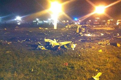 Местонахождение самописцев самолета Boeing-737, разбившегося в Казани, найдено