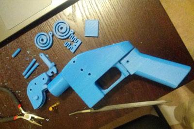 В Соединённых Штатах прошло первой официальное тестирование напечатанного на 3D принтере огнестрельного пистолета