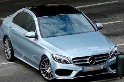 Mercedes-Benz C-Class - первые шпионские фотографии