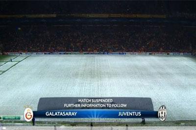 «Галатасарай» вырвал победу у «Ювентус» - тренер не доволен обледеневшим полем