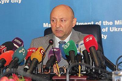 Глава Киевской милиции подал в отставку после действий на Майдане Независимости