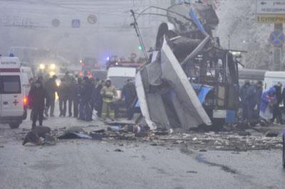 Пятидневный теракт объявлен в Волгограде из-за двух терактов