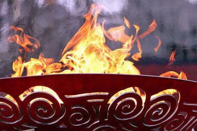 В Новосибирске огонь нес  101 летний факелоносец