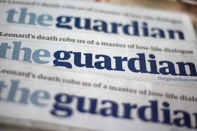 В Китае заблокировали сайт британской газеты «The Guardian»