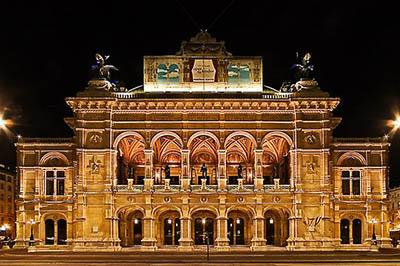 Venskaya opera Fasad
