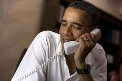 Барак Обама и Владимир Путин по телефону обсудили подготовку к Олимпийским играм