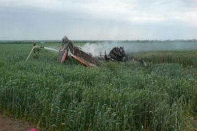 В Румынии разбился самолет с медперсоналом на борту