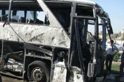 В Египте взорвали туристический автобус с пассажирами