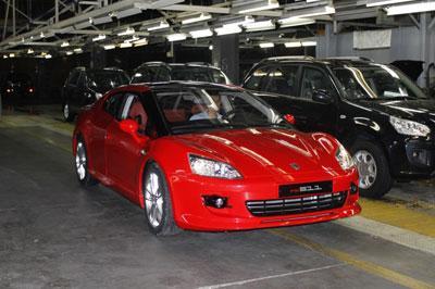 За прошлый год «ТагАЗ» продал 50 моделей «Aquila»