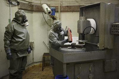 Из Сирии вывезли третью партию химического оружия