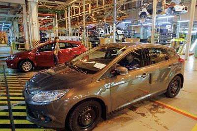 Завод «Ford» в России может закрыться на два месяца
