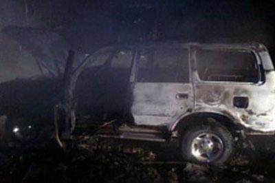 В Ростове на подземной стоянке сгорели пять автомобилей
