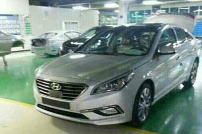В сети появились фото нового «Hyundai Sonata»