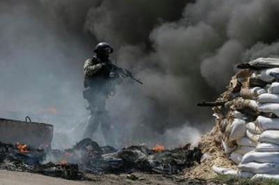 Силовики Украины ликвидировали блокпост вблизи Славянска