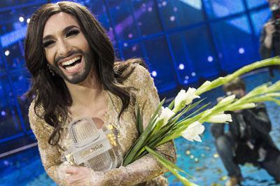 Кончита Вурст выиграла Евровидение