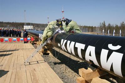 Цена на газ для Китая будет формироваться в зависимости от цены на нефть