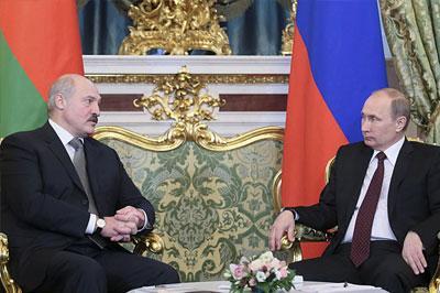 Россия предоставит кредит Белоруссии в размере 2 миллиардов долларов