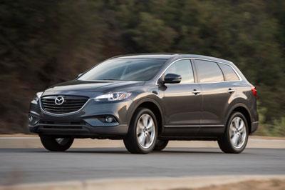 Стали известны подробности новой «Mazda CX-9»
