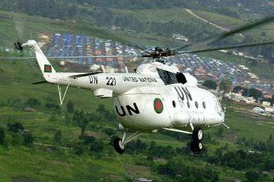 В спецоперациях под Краматорском силовики Украины использовали вертолет с маркировкой ООН