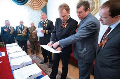 В Москву доставили часть подписей о воссоединении Приднестровья с Россией