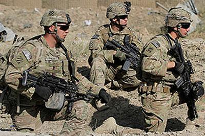 В силовых операциях на востоке Украины принимают участие порядка 400 элитных бойцов из США