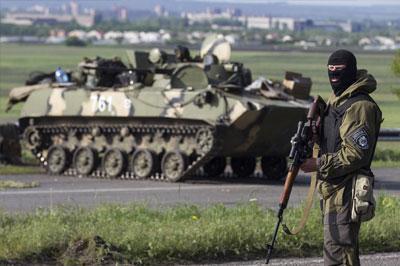 По словам Турчинова силовики Украины уничтожили военную базу народного ополчения