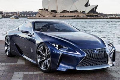 «Lexus LF-LC» будет поставлена на серийное производство в 2017 году